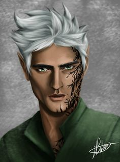 Rowan Whitethorn fan art