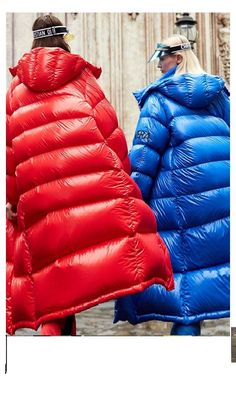 Puffer Coats, Down Puffer Coat, Down Coat, Nylons, Langer Mantel, Puffy Jacket, Gilets, Color Card, Winter Fashion