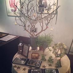 5月14日無事結婚式を終えることが出来ました♫ウェルカムスペースはこんな感じになりました(^ω^) @kokoni_0601 さんのスターガーランドやタッセルなど沢山飾ってすごくいい感じになりました♡ #結婚式 #ナチュラルウェディング #卒花嫁 #ウェルカムスペース #ウェルカムアイテム