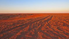 South Australia desert