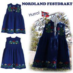 Nordland Festdrakt Pike pattern by Lill C. Knit Picks, Knitting For Kids, Ravelry, Knit Crochet, Knitting Patterns, Summer Dresses, Baby Dresses, Kids Outfits, High Waisted Skirt