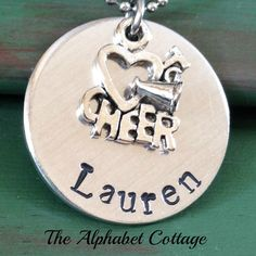 Love to Cheer Personalized by TheAlphabetCottage on Etsy