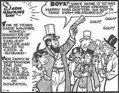 """The concept behind Sadie Hawkins Day is supposed to make girls and women feel empowered, but knowing the story behind it, how is still being """"celebrated""""?"""
