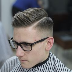Half back and sides emoji️ hardparting and finished smooth with a hairdryer, layrite @officiallayrite applied liberally then combed into position. #fade#hair #haircut #hairstyle #barber #barber #barberlife #barberlove #hairdressing #menshair #menshairdressing #male #mensfashion #ukbarber #barberuk#parting #hjmen #wahl #wahlacademy #thebarbermagazine #barbermagazine #barbershopconnect @barbershopconnect#salonsundays#tapeups@NEWWORLDBARBERS#newworldbarbers#nwb#RUGERBARBER@RUGERBARBER…
