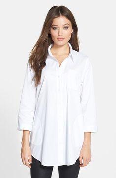 white-lafayette-148-new-york-tierny-excursion-stretch-tunic-shirt.jpg 392×601 pixels