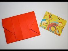 Une magnifique enveloppe à faire et refaire pour faire plaisir avec des mots et du papier.