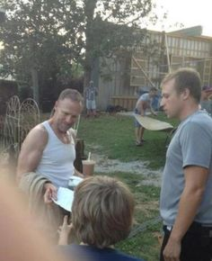 Merle Is Back! First Look At Michael Rooker On The Set Of 'Walking Dead' Season 3!