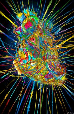 love trippy hippie weed marijuana lsd pot high shrooms acid psychedelic trip heart peace embrace thc hallucinogens hallucinogenic hallucinate goodvibes miss-road-to-nowhere Psychedelic Art, Image Illusion, Trippy Hippie, Anim Gif, Animated Gif, Art Visionnaire, Heart Gif, Acid Trip, Psy Art