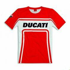 Ducati Corse Track T-shirt - Size Medium picture Ducati 1200s, Ducati 821, Fashion Brands, Track, Tees, T Shirt, T Shirts, Corse, Tee