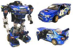 Subaru Impreza WRC Transformer. I need this!