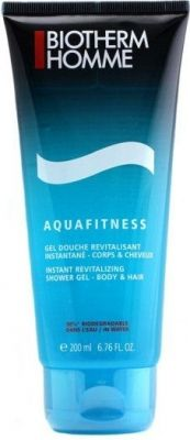 Biotherm Homme Aquafitness гель для душа 200 мл Biotherm Homme, Personal Care, Shower, Self Care, Personal Hygiene