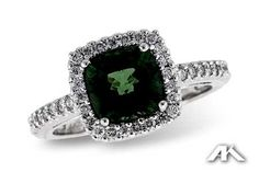 Green Tourmaline by Allison-Kaufman from Christopher's Fine Jewelry