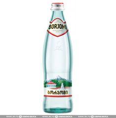 Вода минеральная Боржоми газированная 0.5 л стеклянная бутылка Грузия по цене 89 руб 0 коп