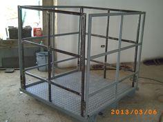 cesta de seguridad para montacargas