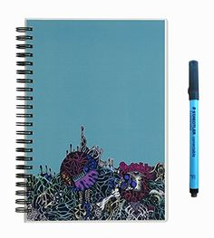 I can't get enough of these reusable notebooks! Great for kids too! Scrubby Reusable Whiteboard Notebook--Junior Size