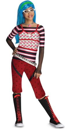 Ghoulia Yelps Monster High Costume