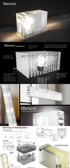 "Filament by James Green and Tom Lawson. ""A reflection of modern craft – using a cold difficult material to produce a warm functional piece of design. Modern Crafts, Art Of Glass, Reflection, Artisan, Concept, Cold, Warm, Interior Design, Green"
