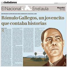 Biografía de Rómulo Gallegos.