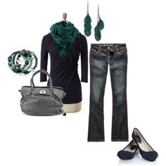 Jean outfit, huh... already have this and love it for winter!