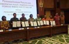 Setelah melewati pembahasan dan penantian yang cukup panjang, akhirnya Provinsi Papua resmi menguasai 10 persen saham PT. Freeport Indonesi...