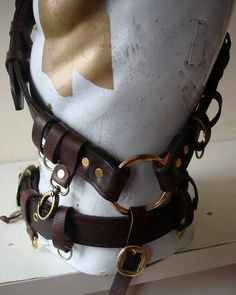 Custom Steampunk baldric and belt