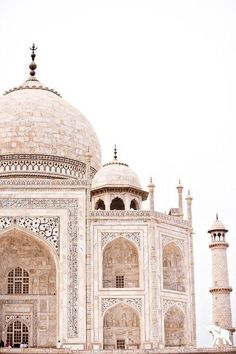 Taj Mahal in India. Wanderlust bucket list places to travel. Places Around The World, The Places Youll Go, Places To See, Places To Travel, Travel Destinations, Travel Tips, Travel Guides, Travel Photos, Vacation Travel