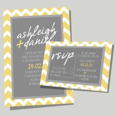 BRIGHT & CHEERY A Fun invite & RSVP - available to be personalised with your details for your wedding.  Colours can be modified to match your wedding theme   #weddinginvitation #weddinginvite #myweddinginvite   www.myweddinginvite.co.nz