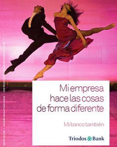 Mi empresa hace las cosas de forma diferente - Mi banco también. Servicios para empresas de Triodos Bank: http://www.triodos.es/es/empresas-instituciones/