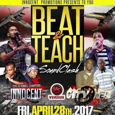 Beat & Teach - Innocent v City Heat@Hurricanes Bar & Grill Pembroke Pines Florida 28.4.2017 by Mikey Glamour - Live Audio - Listen to music