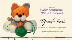 Gatito Amigurumi - Esperosas www.tejiendoperu.com