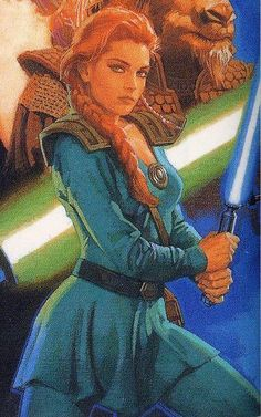The most light side I have seen her portrayed so far