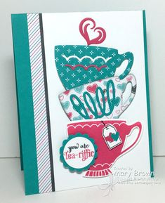 I'm having fun playing with my new stuff from the SU Occasions Mini. Over the new year weekend I spent some time playing with this set and this is one of the cards I came up with. All the details on my blog... http://stampercamper.com/2016/01/06/a-nice-cuppa/