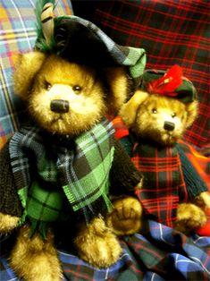 plaids from scotland | STA Online Shop. Tartan Teddy Bear - MacBear
