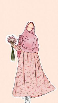 slamic anime ve tesett r Cute Muslim Couples, Muslim Girls, Muslim Women, Vector Character, Cover Wattpad, Portrait Vector, Muslim Pictures, Hijab Drawing, Islamic Cartoon