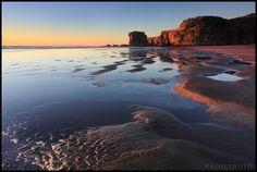 Maori Bay, Auckland's West coast, New Zealand, Aotearoa