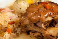 Una #receta de #Carbochef para chuparse los dedos ;) Pork, Meat, Chicken, Dishes, Food Recipes, Fingers, Kale Stir Fry, Cubs, Pork Chops