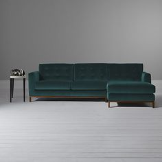 Buy Furia Odyssey RHF Chaise End Sofa Online at johnlewis.com