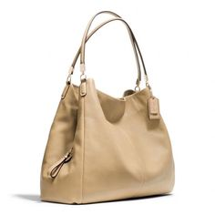 Coach Beige Handbag Gently worn beige couch leather bag Coach Bags Shoulder Bags