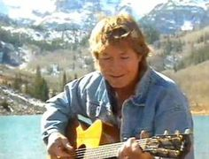 John Denver singing Rocky Mountain High at Maroon Bells. John Denver, Mountain High, Make Pictures, People Of The World, No One Loves Me, Rocky Mountains, Music Is Life, First Love, Singer