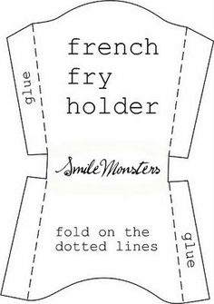 6 Best Images of French Fry Box Template Printable - French Fry Box Template, French Fry Box Template and French Fries Box Template Printable Free Plotter Silhouette Cameo, Free Silhouette, Silhouette School, Puzzle Photo, Felt Crafts, Paper Crafts, Pop Up Card, 3d Templates, Fry Box