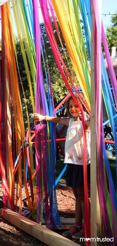 dress up play structures and rooms to make them more magical
