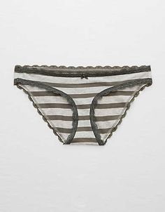 8b03bca6c622 Aerie Shine Thong + Geo Lace (62 ZAR) ❤ liked on Polyvore featuring ...
