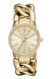 Michael Kors 'Lady Nini' Chain Link Bracelet Watch, 35mm
