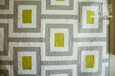 Midcentury Quilt pattern by vintagemodernquilts | lisa, via Flickr