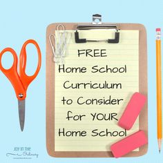FREE Home School Resources That Are Worth Trying Out — Joy in the Ordinary