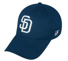c678a427e5e148 San Diego Padres (Home - White SD) ADULT Adjustable Hat MLB Officially  Licensed Major