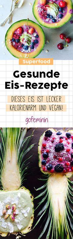 Gesunde Eis-Rezepte: DIESES Eis ist kalorienarm, fettfrei, gesund und lecker!