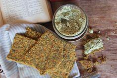Raw Vegan Paleo Crackers