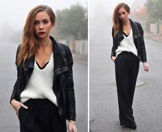 warm, yet stylish: winter outfits Fashion Models, Fashion Pants, Fashion Beauty, Spring Fashion, Winter Fashion, Estilo Blogger, Date Outfits, Boutique, Rock