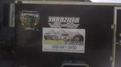 Sponsor Sticker On Trailer Call them for your Land Cruiser Parts Mention Yardzilla Racing Get 10% off